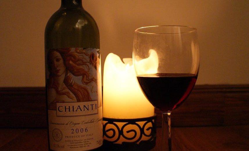 Chianti & Candle