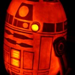 R2D2 Jack O'Lantern