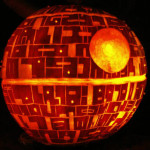 Death Star Jack O'Lantern