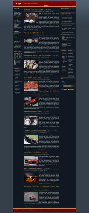 BlogF1 v2