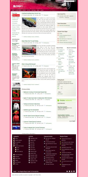 BlogF1 v6 Pink