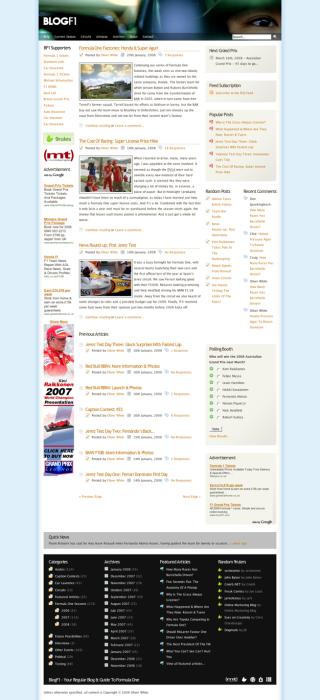 BlogF1 v6