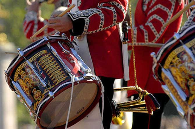 Military Drummer