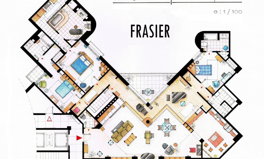 Frasier Floorplan