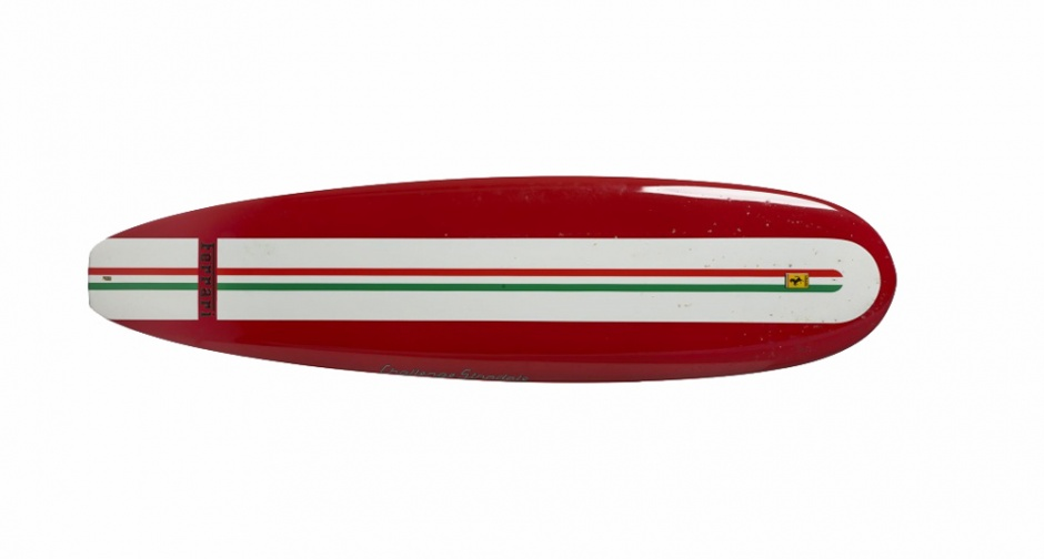 Ferrari Surfboard