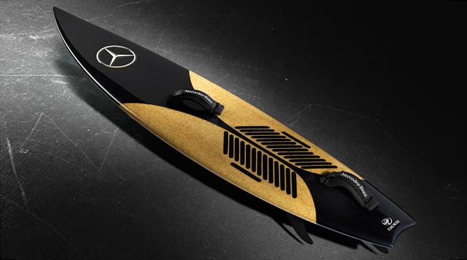 Mercedes Benz Kiteboard