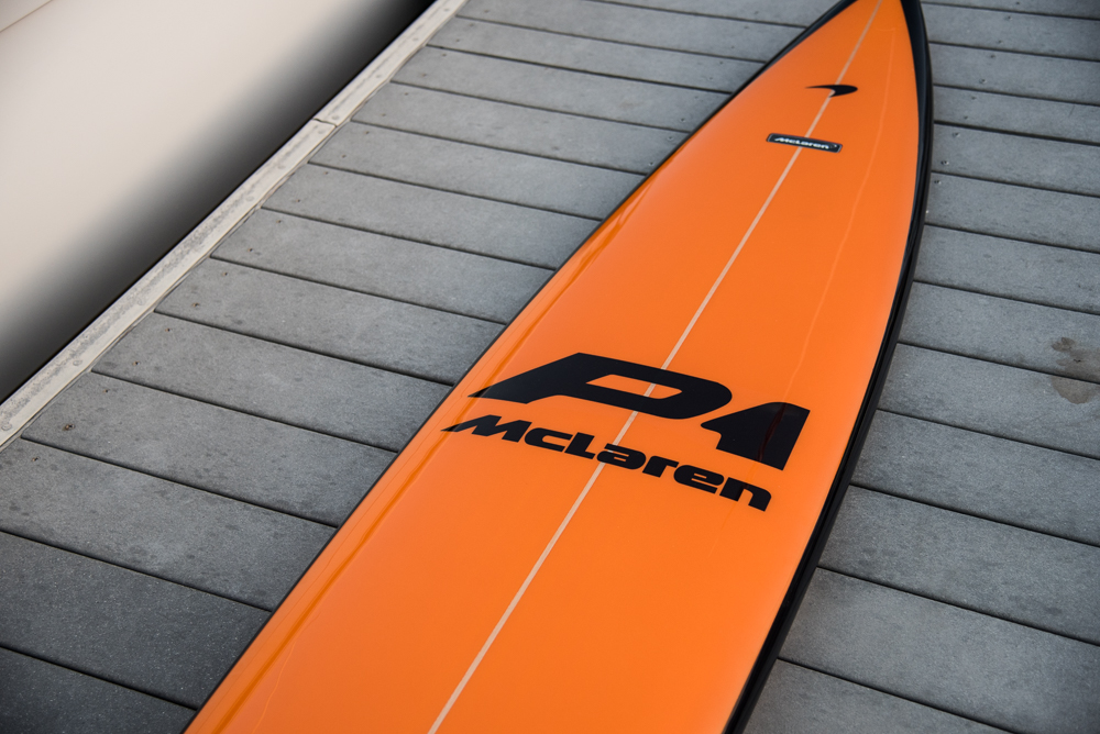 McLaren Surfboard