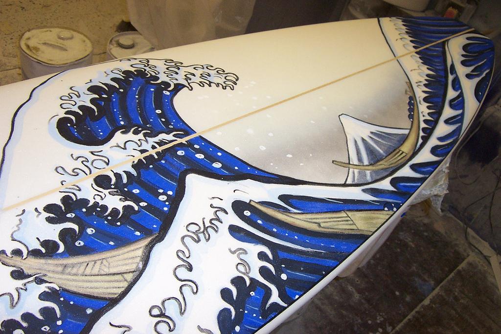 Hokusai Surfboard