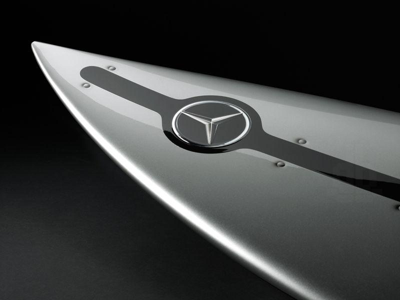 Mercedes Benz Surfboard