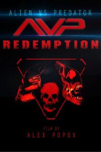 "Poster for the movie ""Alien vs Predator Redemption"""