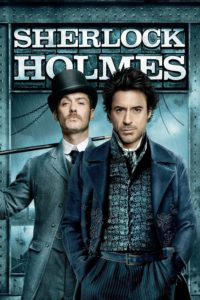 "Poster for the movie ""Sherlock Holmes"""