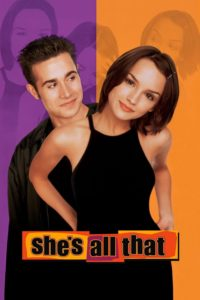 "Poster for the movie ""She's All That"""