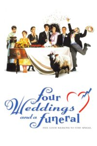 """Poster for the movie """"Four Weddings and a Funeral"""""""