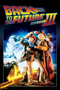 "Poster for the movie ""Back to the Future Part III"""