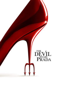 "Poster for the movie ""The Devil Wears Prada"""