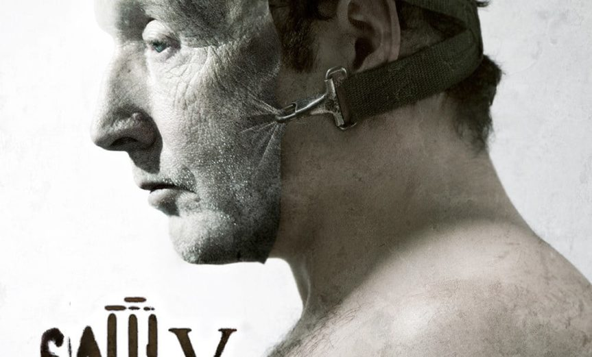 """Poster for the movie """"Saw V"""""""
