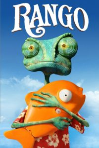 """Poster for the movie """"Rango"""""""