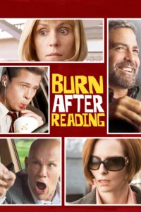 "Poster for the movie ""Burn After Reading"""