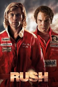 """Poster for the movie """"Rush"""""""