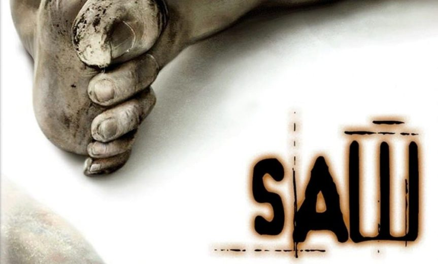 """Poster for the movie """"Saw"""""""
