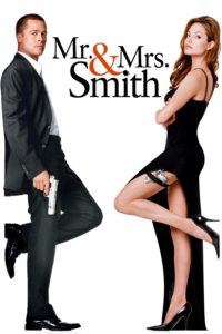 """Poster for the movie """"Mr. & Mrs. Smith"""""""