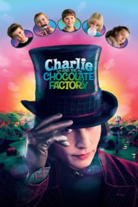 "Poster for the movie ""Charlie and the Chocolate Factory"""
