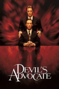 "Poster for the movie ""The Devil's Advocate"""