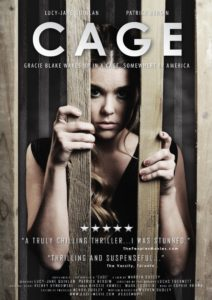 "Poster for the movie ""Cage"""