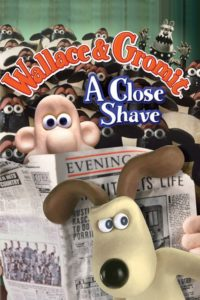 "Poster for the movie ""A Close Shave"""