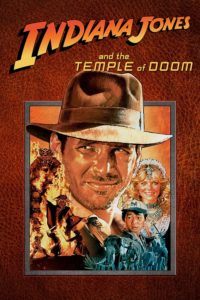 """Poster for the movie """"Indiana Jones and the Temple of Doom"""""""