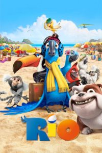 """Poster for the movie """"Rio"""""""