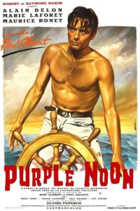 """Poster for the movie """"Purple Noon"""""""