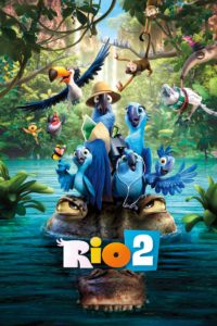 """Poster for the movie """"Rio 2"""""""