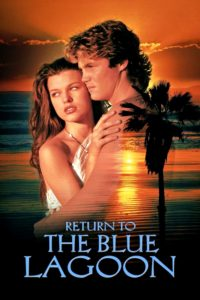"""Poster for the movie """"Return to the Blue Lagoon"""""""