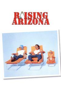"Poster for the movie ""Raising Arizona"""