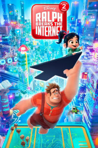 """Poster for the movie """"Ralph Breaks the Internet"""""""