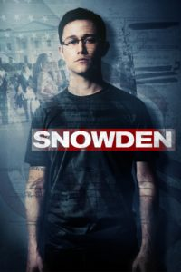 "Poster for the movie ""Snowden"""
