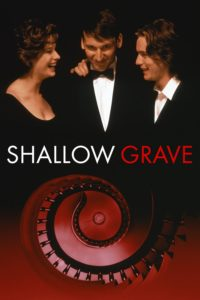"Poster for the movie ""Shallow Grave"""