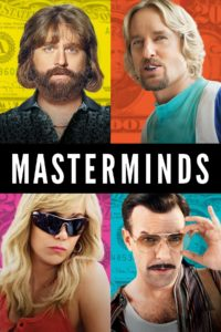 """Poster for the movie """"Masterminds"""""""