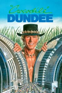 "Poster for the movie ""Crocodile Dundee"""