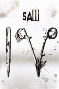 "Poster for the movie ""Saw IV"""