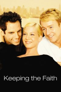"""Poster for the movie """"Keeping the Faith"""""""