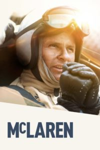 """Poster for the movie """"McLaren"""""""