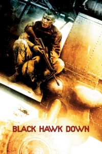 "Poster for the movie ""Black Hawk Down"""