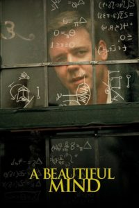 "Poster for the movie ""A Beautiful Mind"""