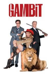 """Poster for the movie """"Gambit"""""""