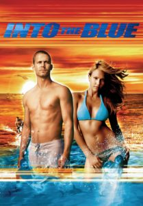 """Poster for the movie """"Into the Blue"""""""