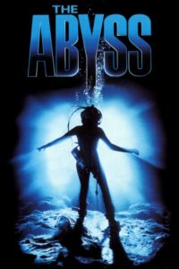 "Poster for the movie ""The Abyss"""