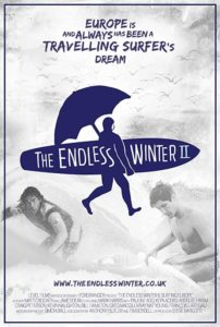 """Poster for the movie """"The Endless Winter II: Surfing Europe"""""""