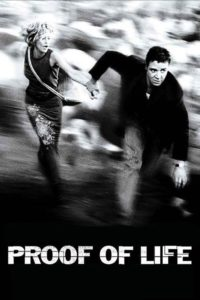 """Poster for the movie """"Proof of Life"""""""